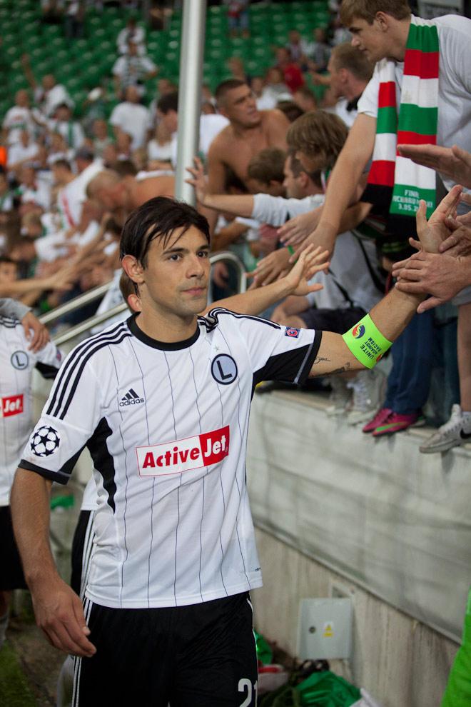 Legia Warszawa 2-2 Steaua Bukareszt - fot. Piotr Galas / Wiadomosci24.pl (zdjęcie 86 z 87)