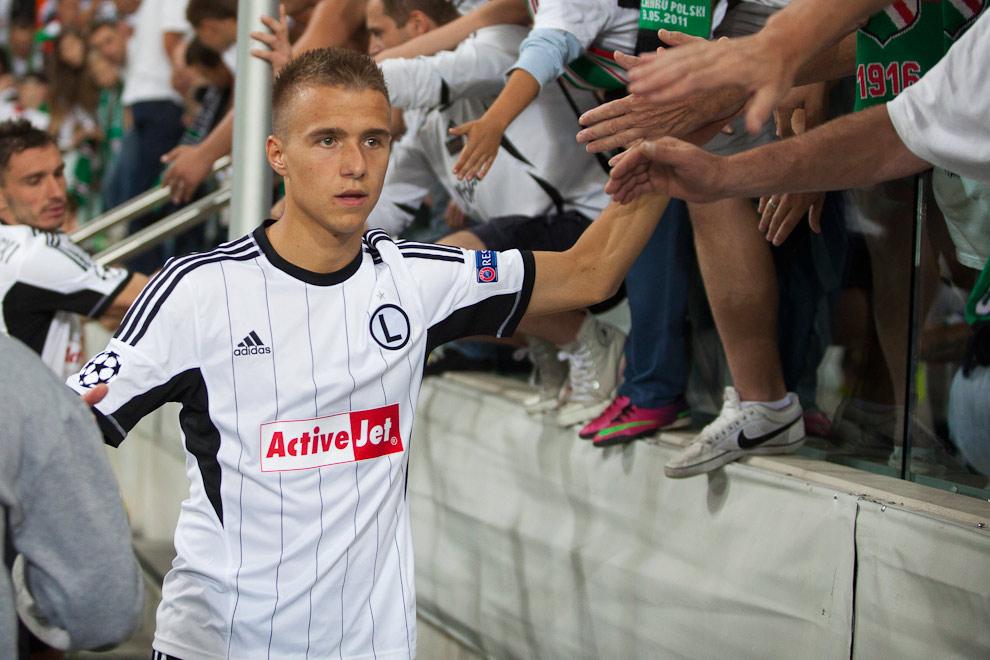 Legia Warszawa 2-2 Steaua Bukareszt - fot. Piotr Galas / Wiadomosci24.pl (zdjęcie 87 z 87)