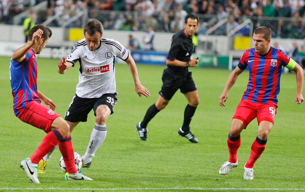 Legia Warszawa 2-2 Steaua Bukareszt - fot. Piotr Galas / Wiadomosci24.pl (zdjęcie 9 z 87)