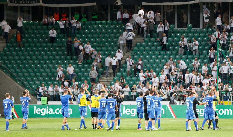 Legia Warszawa 1-0 The New Saints - fot. Piotr Galas (wiadomosci24.pl) (zdjęcie 1 z 40)