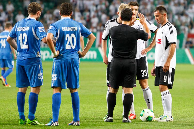 Legia Warszawa 1-0 The New Saints - fot. Piotr Galas (wiadomosci24.pl) (zdjęcie 12 z 40)