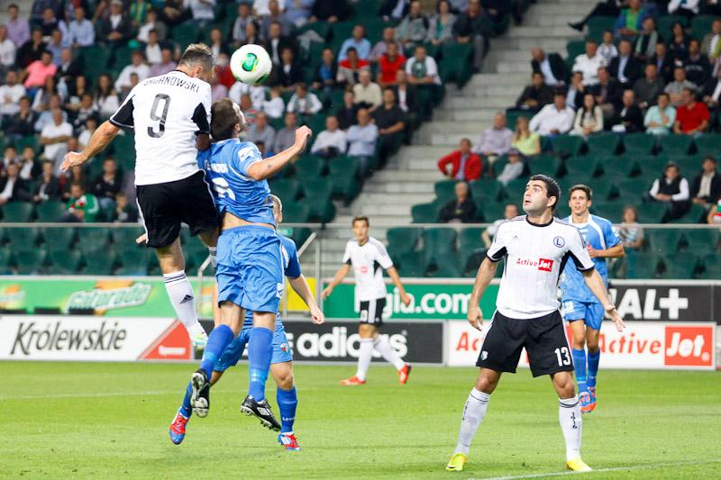 Legia Warszawa 1-0 The New Saints - fot. Piotr Galas (wiadomosci24.pl) (zdjęcie 22 z 40)