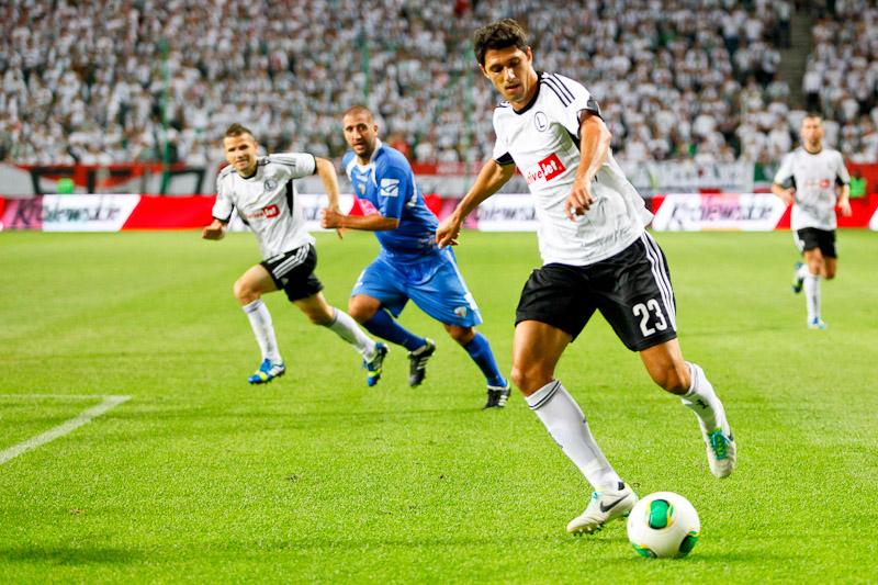 Legia Warszawa 1-0 The New Saints - fot. Piotr Galas (wiadomosci24.pl) (zdjęcie 5 z 40)