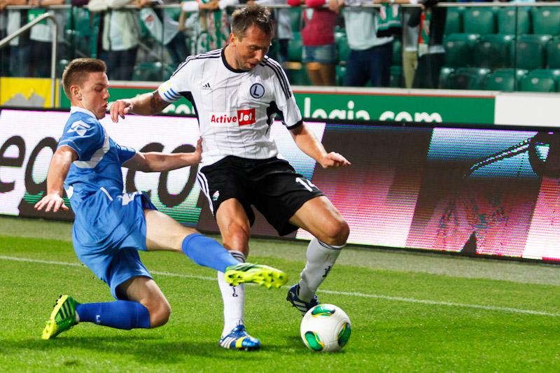 Legia Warszawa 1-0 The New Saints - fot. Piotr Galas (wiadomosci24.pl) (zdjęcie 7 z 40)