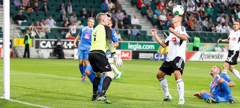 Legia Warszawa 1-0 The New Saints - fot. Piotr Galas (wiadomosci24.pl) (zdjęcie 9 z 40)