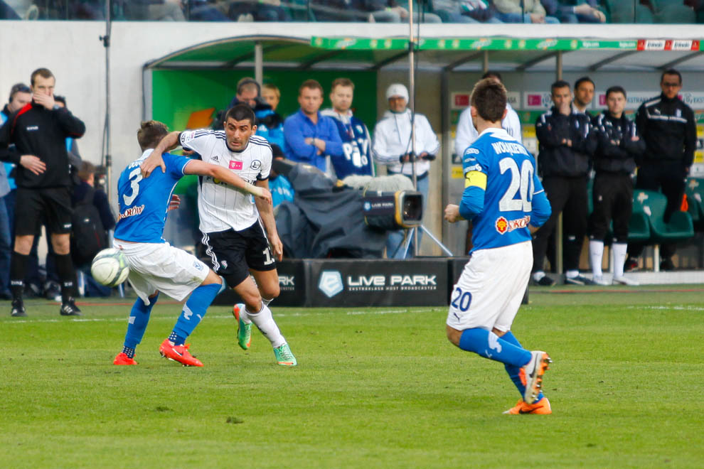 Legia Warszawa 1-0 Lech Poznań - fot. Piotr Galas/wiadomosci24.pl (zdjęcie 64 z 72)