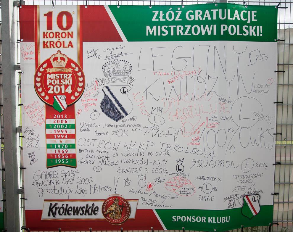 Legia Warszawa 2-0 Lech Poznań - fot. Piotr Galas/wiadomosci24.pl (zdjęcie 1 z 117)