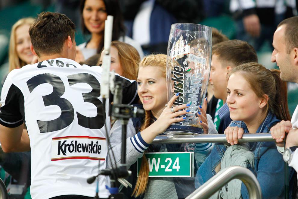 Legia Warszawa 2-0 Lech Poznań - fot. Piotr Galas/wiadomosci24.pl (zdjęcie 101 z 117)
