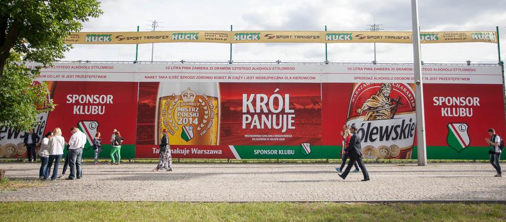 Legia Warszawa 2-0 Lech Poznań - fot. Piotr Galas/wiadomosci24.pl (zdjęcie 2 z 117)