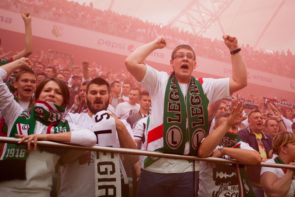 Legia Warszawa 2-0 Lech Poznań - fot. Piotr Galas/wiadomosci24.pl (zdjęcie 26 z 117)