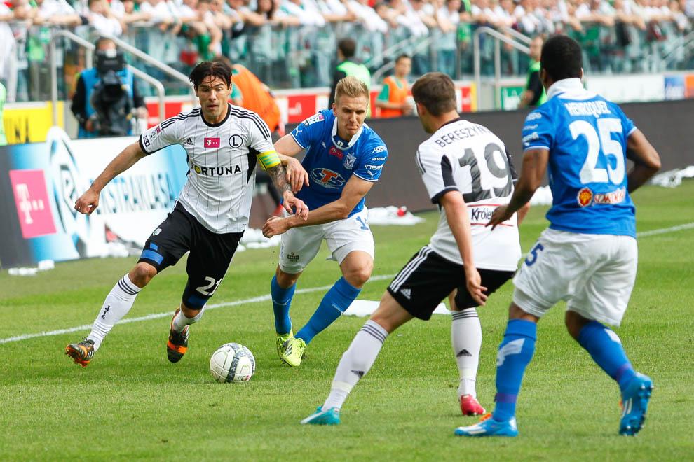 Legia Warszawa 2-0 Lech Poznań - fot. Piotr Galas/wiadomosci24.pl (zdjęcie 31 z 117)