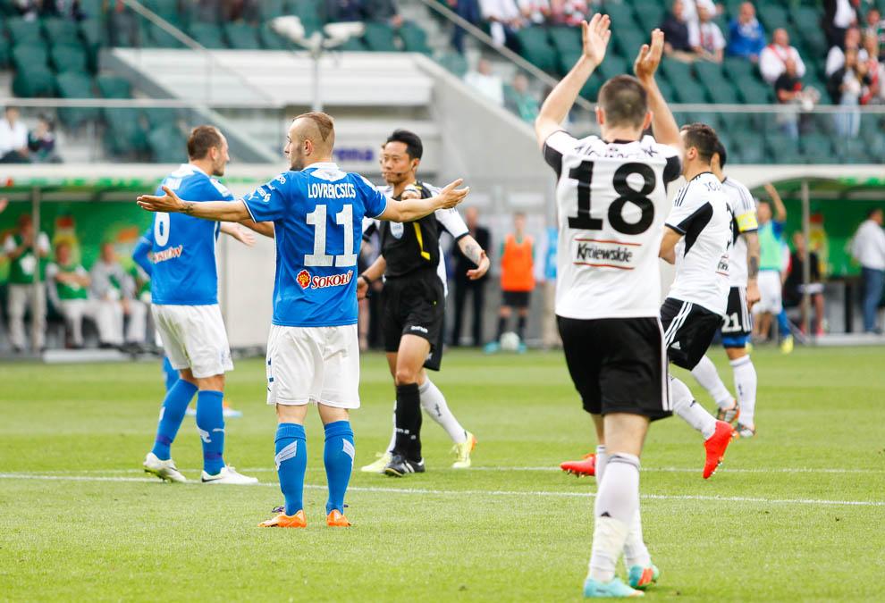 Legia Warszawa 2-0 Lech Poznań - fot. Piotr Galas/wiadomosci24.pl (zdjęcie 50 z 117)