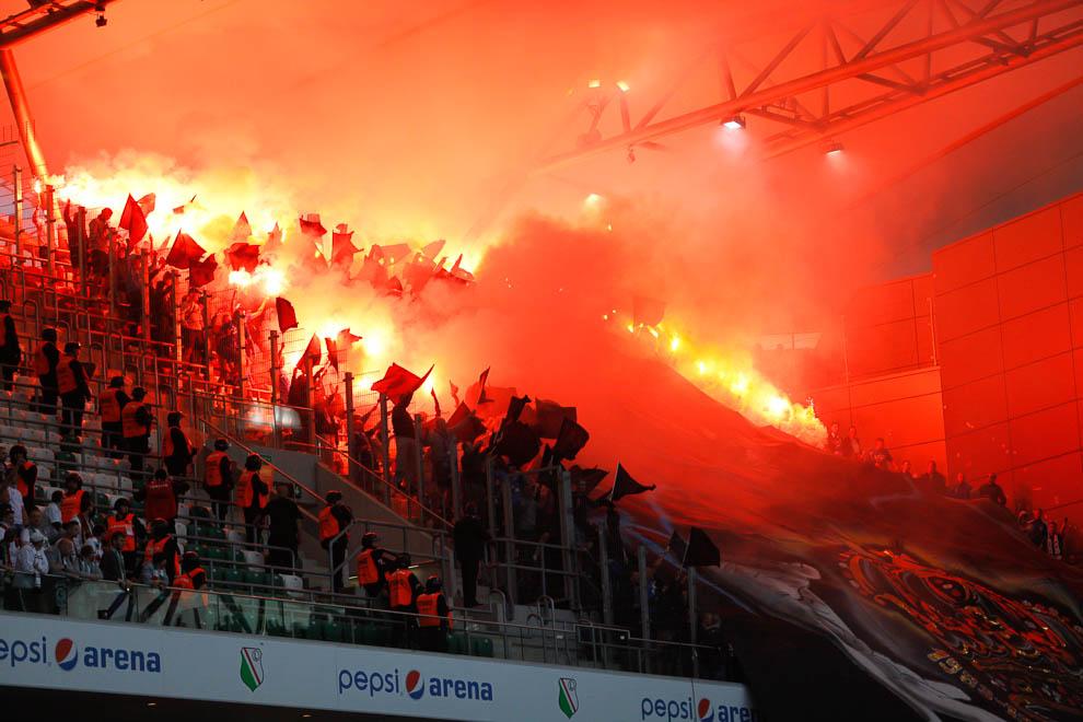 Legia Warszawa 2-0 Lech Poznań - fot. Piotr Galas/wiadomosci24.pl (zdjęcie 69 z 117)