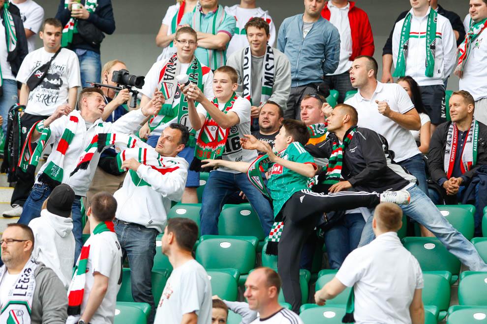 Legia Warszawa 2-0 Lech Poznań - fot. Piotr Galas/wiadomosci24.pl (zdjęcie 7 z 117)