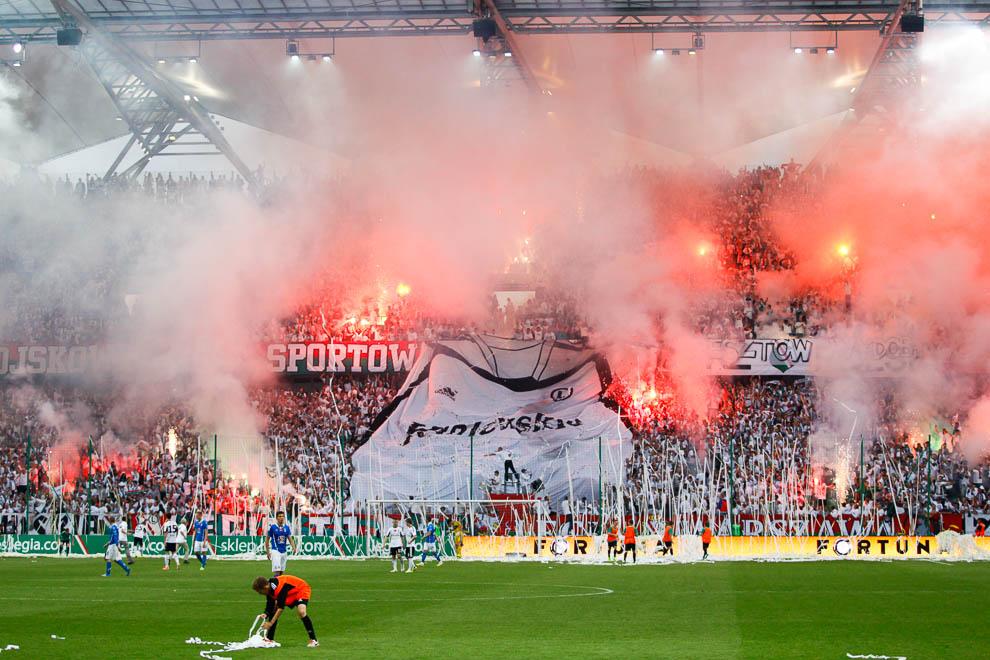 Legia Warszawa 2-0 Lech Poznań - fot. Piotr Galas/wiadomosci24.pl (zdjęcie 76 z 117)