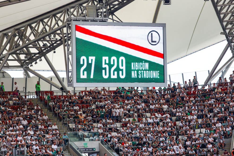 Legia Warszawa 1-2 Ruch Chorzów - fot. Piotr Galas/wiadomosci24.pl (zdjęcie 16 z 39)
