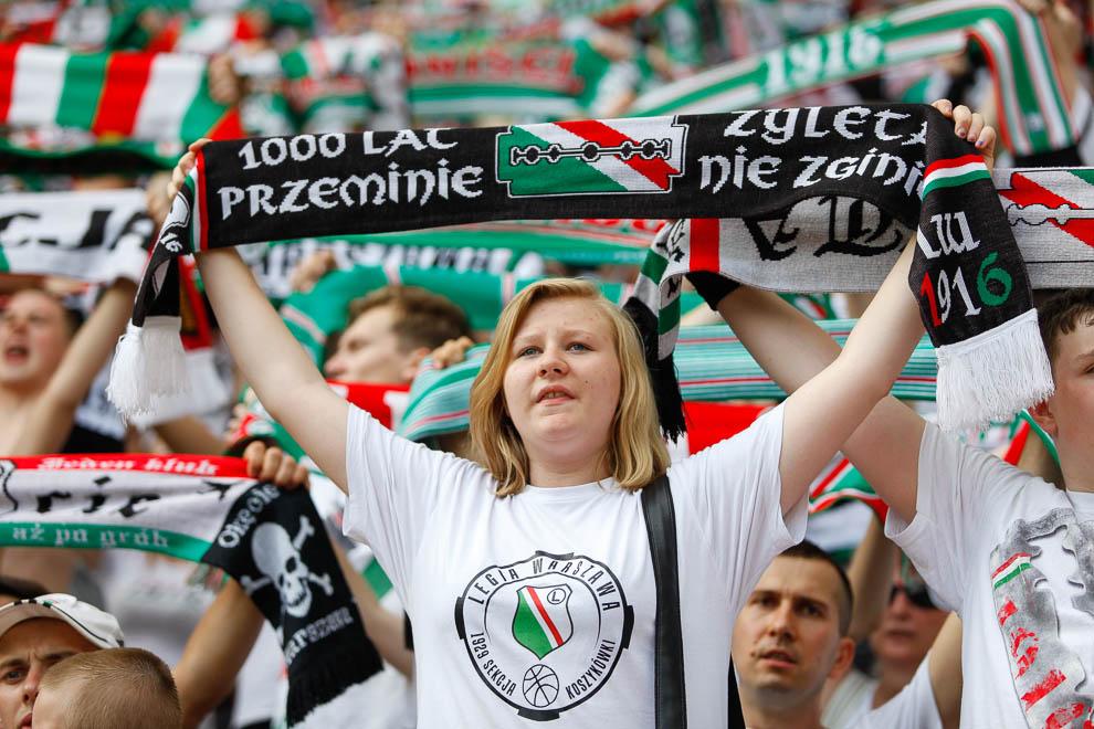Legia Warszawa 1-2 Ruch Chorzów - fot. Piotr Galas/wiadomosci24.pl (zdjęcie 25 z 39)