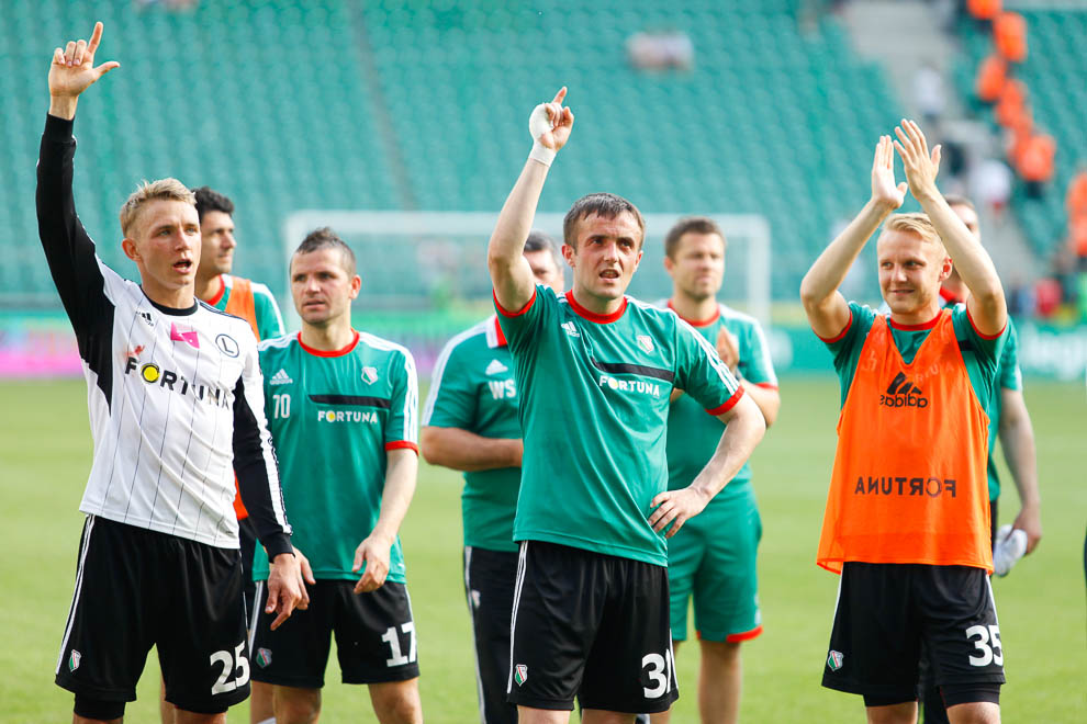 Legia Warszawa 1-2 Ruch Chorzów - fot. Piotr Galas/wiadomosci24.pl (zdjęcie 32 z 39)