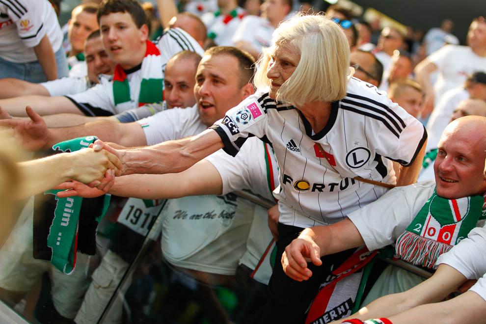 Legia Warszawa 1-2 Ruch Chorzów - fot. Piotr Galas/wiadomosci24.pl (zdjęcie 35 z 39)