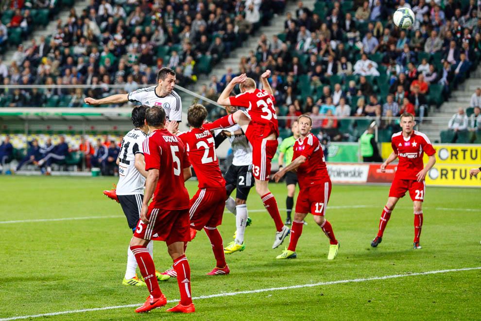 Legia Warszawa 5-0 Wisła Kraków - fot. Piotr Galas/wiadomosci24.pl (zdjęcie 19 z 51)
