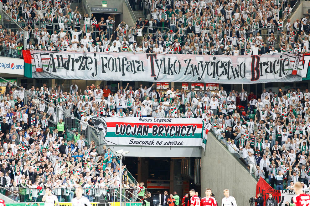 Legia Warszawa 5-0 Wisła Kraków - fot. Piotr Galas/wiadomosci24.pl (zdjęcie 24 z 51)