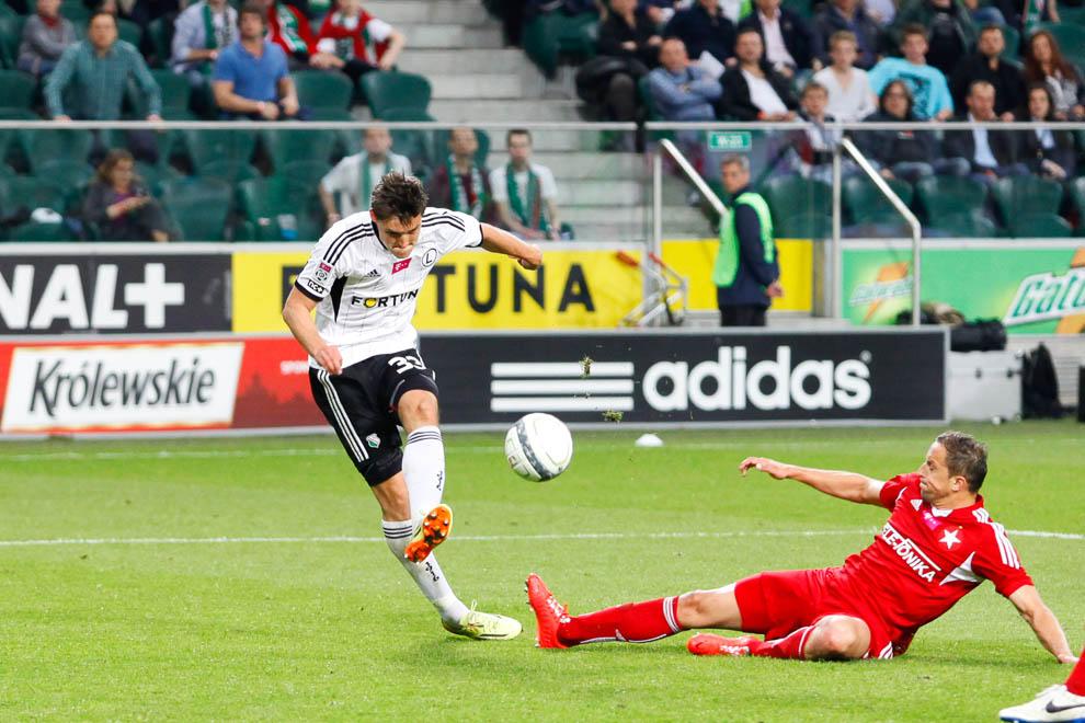 Legia Warszawa 5-0 Wisła Kraków - fot. Piotr Galas/wiadomosci24.pl (zdjęcie 26 z 51)