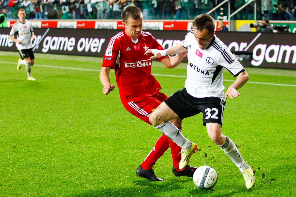 Legia Warszawa 5-0 Wisła Kraków - fot. Piotr Galas/wiadomosci24.pl (zdjęcie 29 z 51)