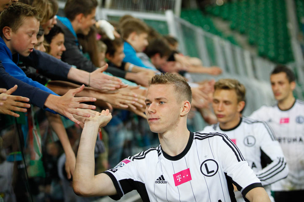 Legia Warszawa 5-0 Wisła Kraków - fot. Piotr Galas/wiadomosci24.pl (zdjęcie 42 z 51)