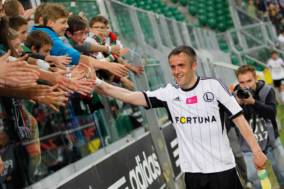 Legia Warszawa 5-0 Wisła Kraków - fot. Piotr Galas/wiadomosci24.pl (zdjęcie 43 z 51)