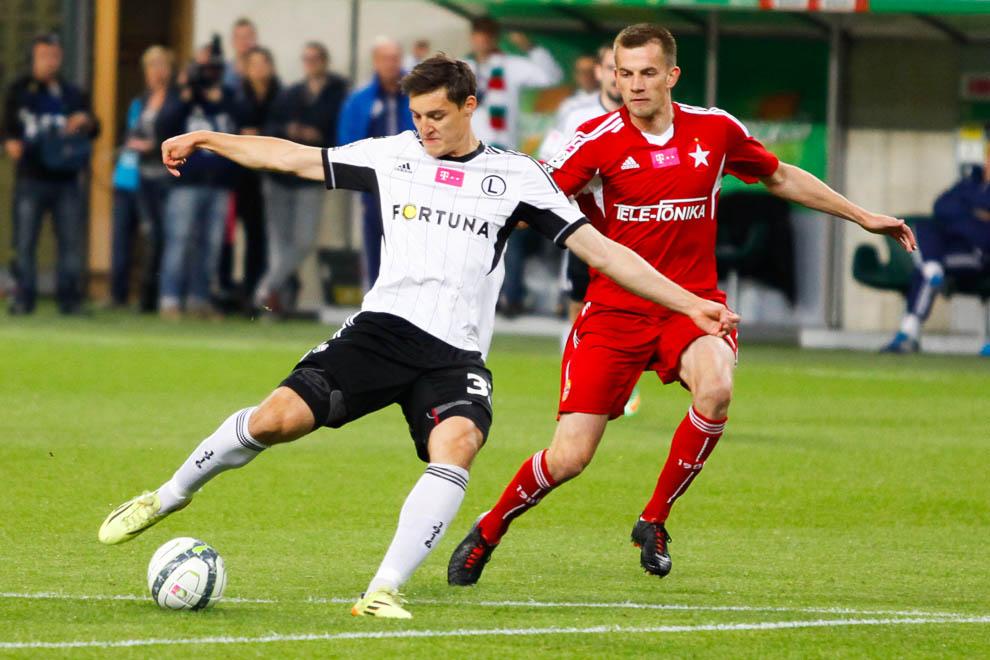 Legia Warszawa 5-0 Wisła Kraków - fot. Piotr Galas/wiadomosci24.pl (zdjęcie 50 z 51)