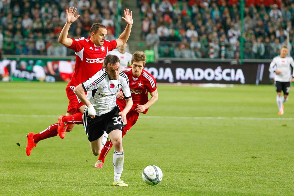 Legia Warszawa 5-0 Wisła Kraków - fot. Piotr Galas/wiadomosci24.pl (zdjęcie 7 z 51)
