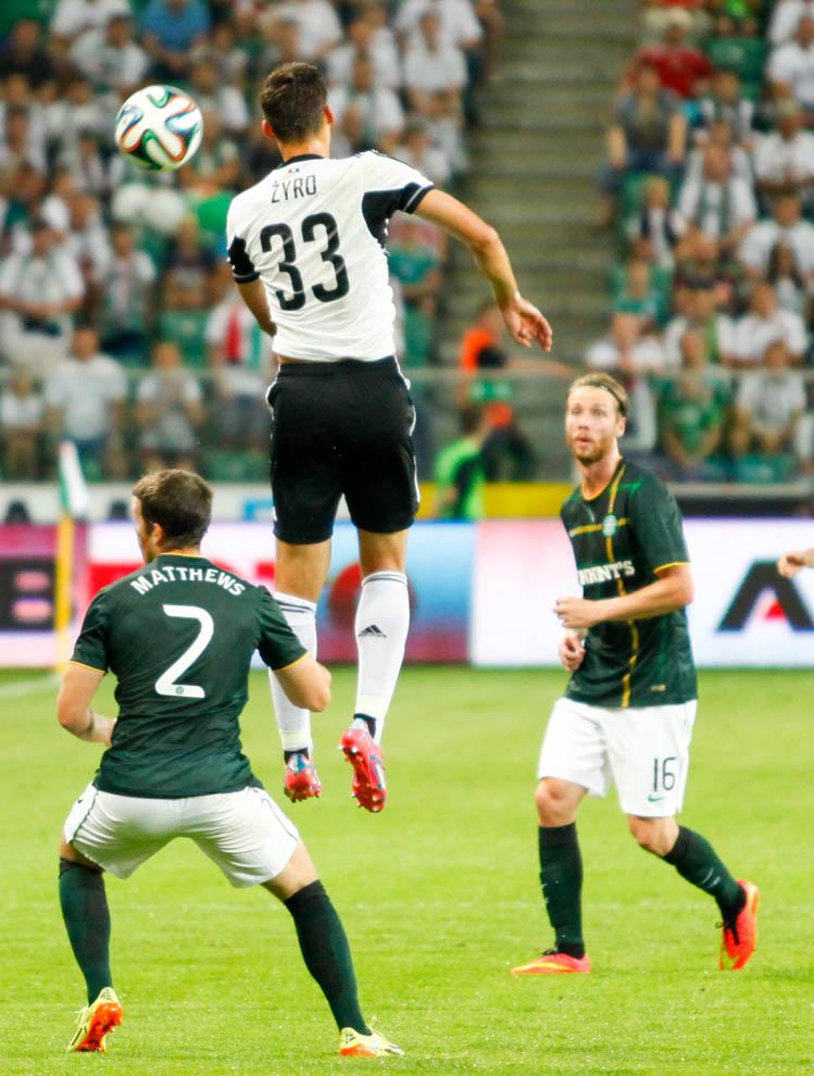 Legia Warszawa 4-1 Celtic Glasgow - fot. Piotr Galas - wiadomosci24.pl (zdjęcie 21 z 81)