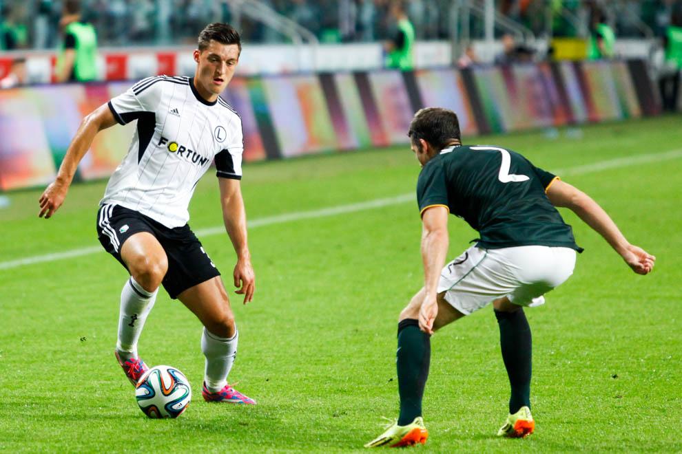 Legia Warszawa 4-1 Celtic Glasgow - fot. Piotr Galas - wiadomosci24.pl (zdjęcie 23 z 81)