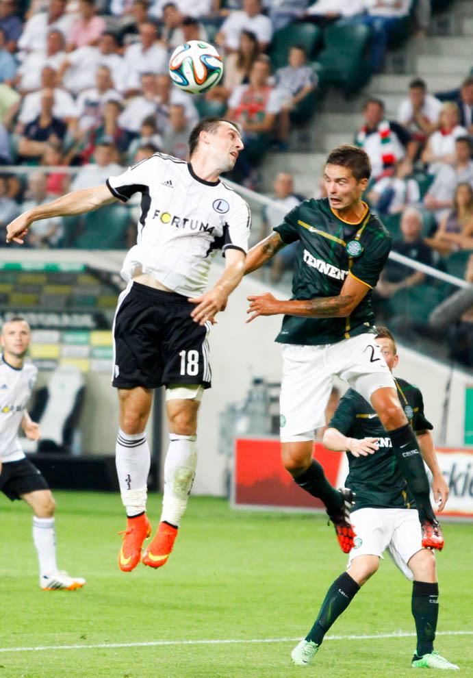 Legia Warszawa 4-1 Celtic Glasgow - fot. Piotr Galas - wiadomosci24.pl (zdjęcie 25 z 81)