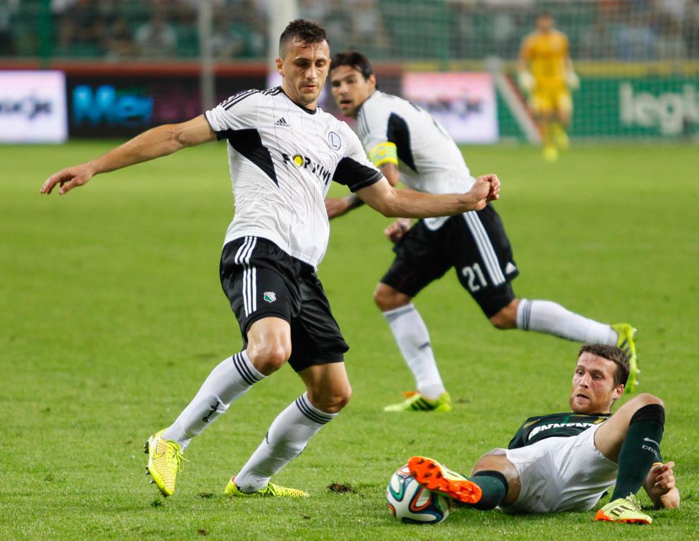 Legia Warszawa 4-1 Celtic Glasgow - fot. Piotr Galas - wiadomosci24.pl (zdjęcie 27 z 81)