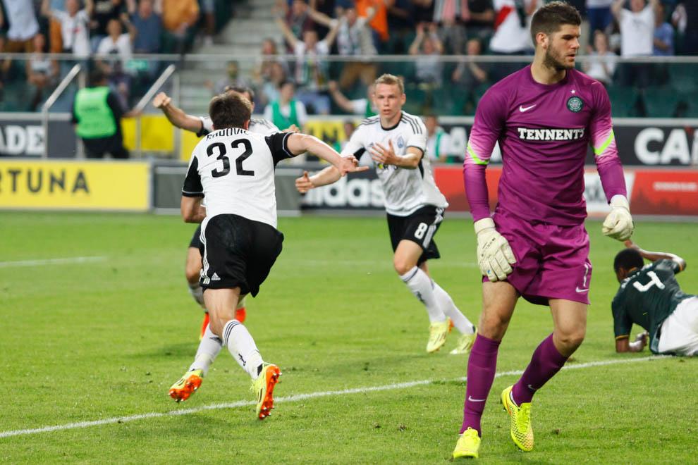Legia Warszawa 4-1 Celtic Glasgow - fot. Piotr Galas - wiadomosci24.pl (zdjęcie 31 z 81)