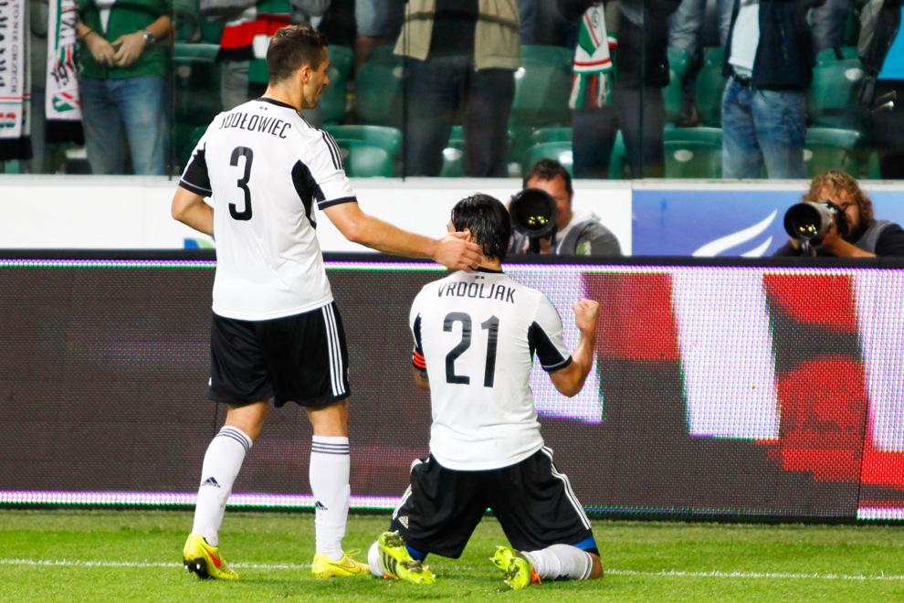 Legia Warszawa 2-0 FK Aktobe - fot. Piotr Galas - wiadomosci24.pl (zdjęcie 50 z 66)
