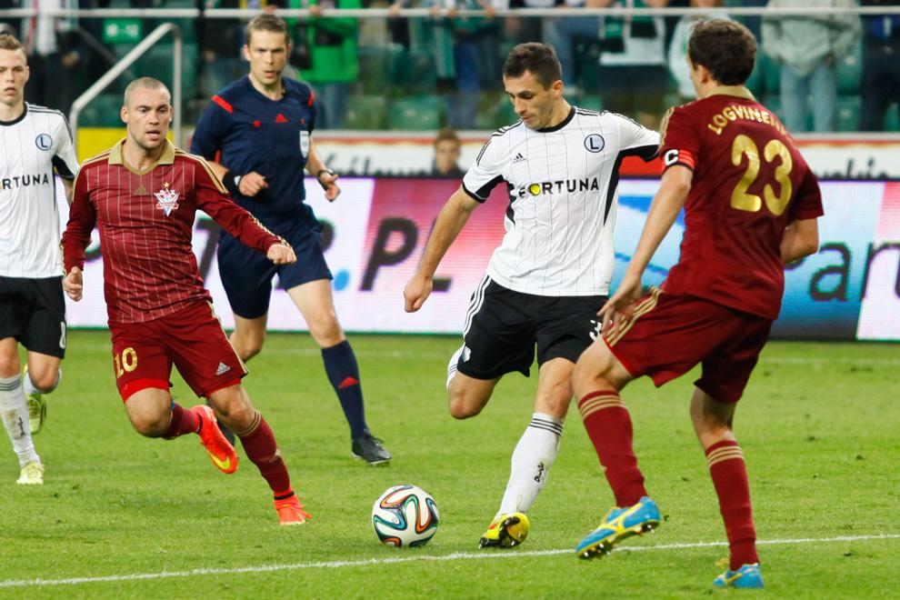 Legia Warszawa 2-0 FK Aktobe - fot. Piotr Galas - wiadomosci24.pl (zdjęcie 51 z 66)