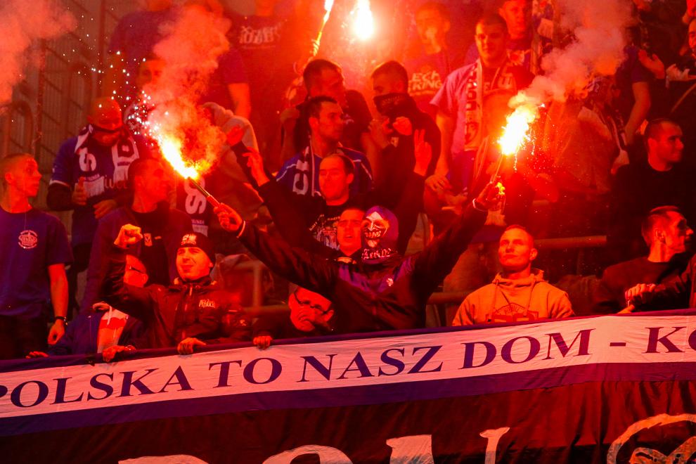 Legia Warszawa 2-2 Lech Poznań - fot. Piotr Galas - wiadomosci24.pl (zdjęcie 34 z 86)
