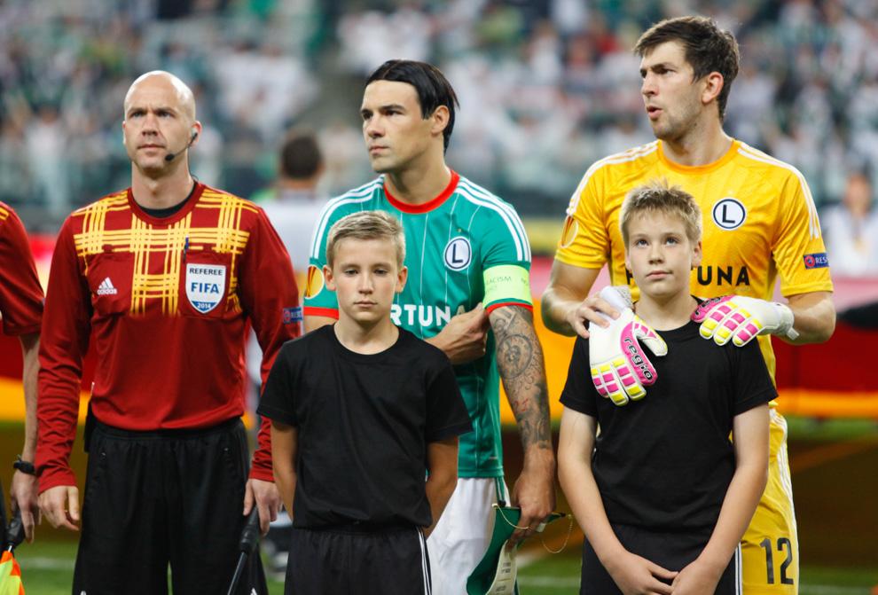 Legia Warszawa 1-0 KSC Lokeren - fot. Piotr Galas - wiadomosci24.pl (zdjęcie 12 z 57)