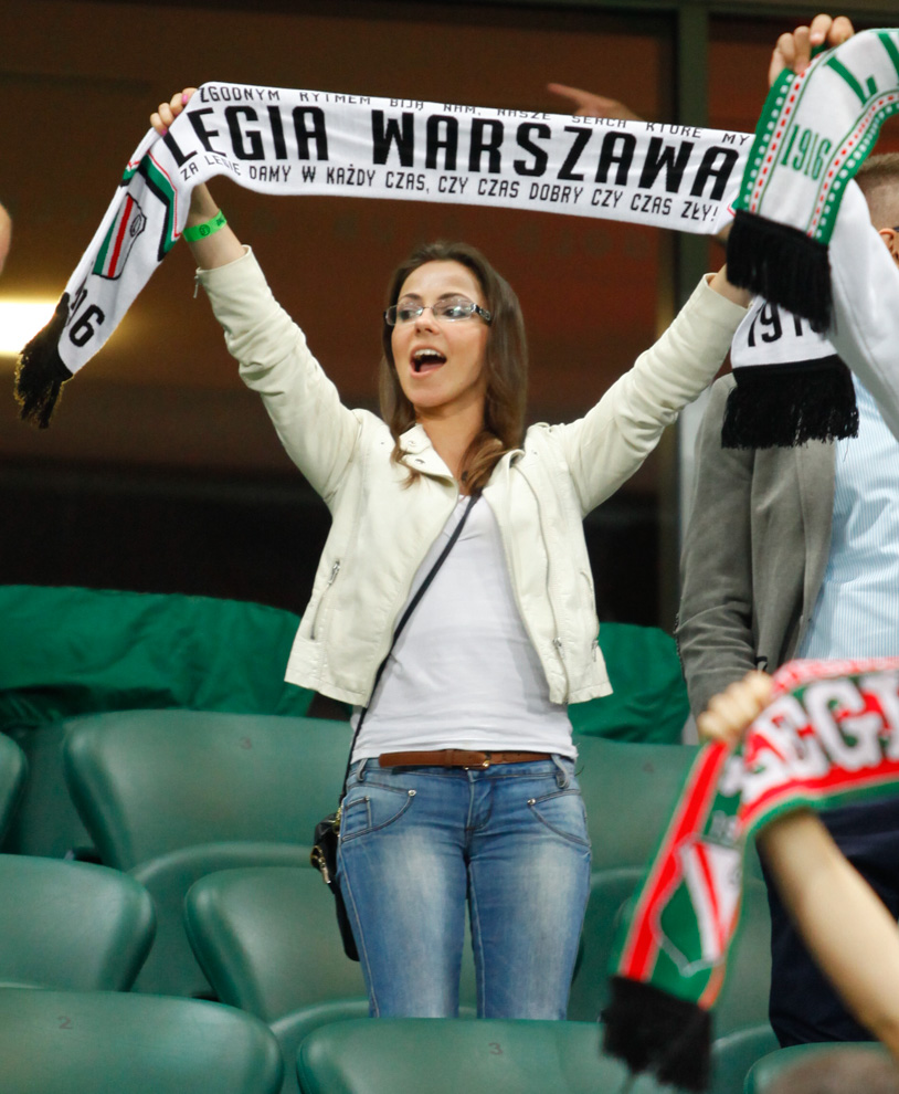 Legia Warszawa 1-0 KSC Lokeren - fot. Piotr Galas - wiadomosci24.pl (zdjęcie 2 z 57)