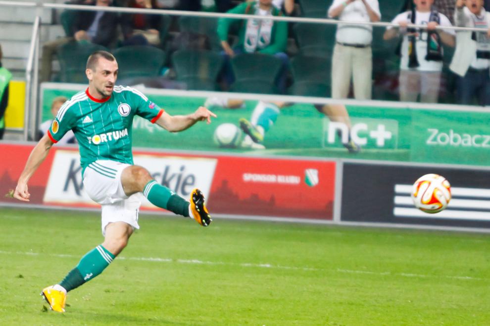 Legia Warszawa 1-0 KSC Lokeren - fot. Piotr Galas - wiadomosci24.pl (zdjęcie 21 z 57)