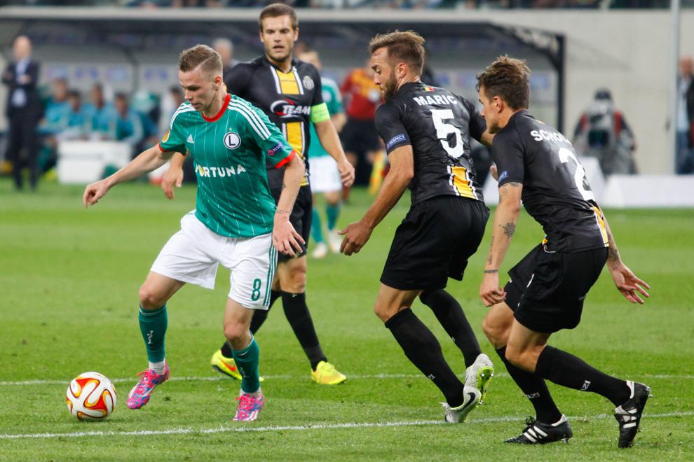 Legia Warszawa 1-0 KSC Lokeren - fot. Piotr Galas - wiadomosci24.pl (zdjęcie 28 z 57)
