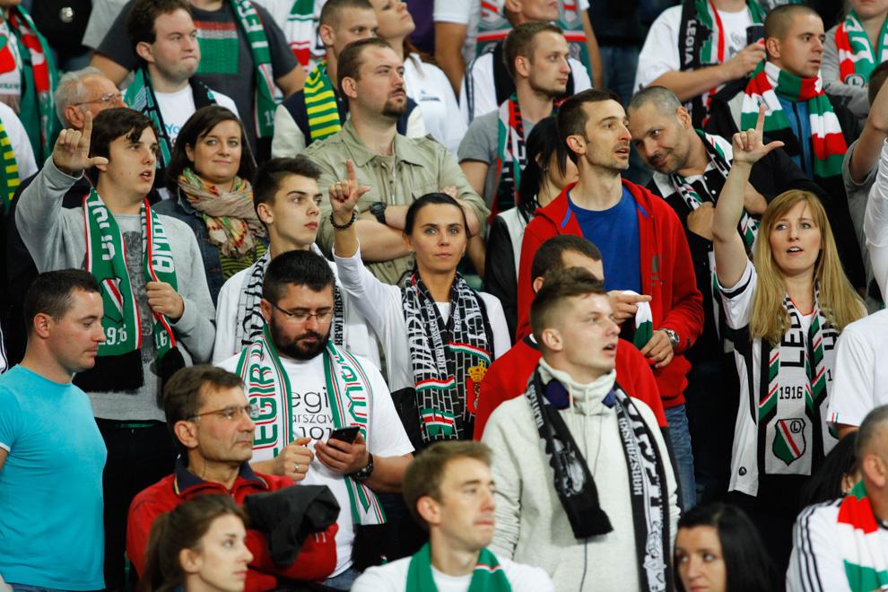 Legia Warszawa 1-0 KSC Lokeren - fot. Piotr Galas - wiadomosci24.pl (zdjęcie 32 z 57)