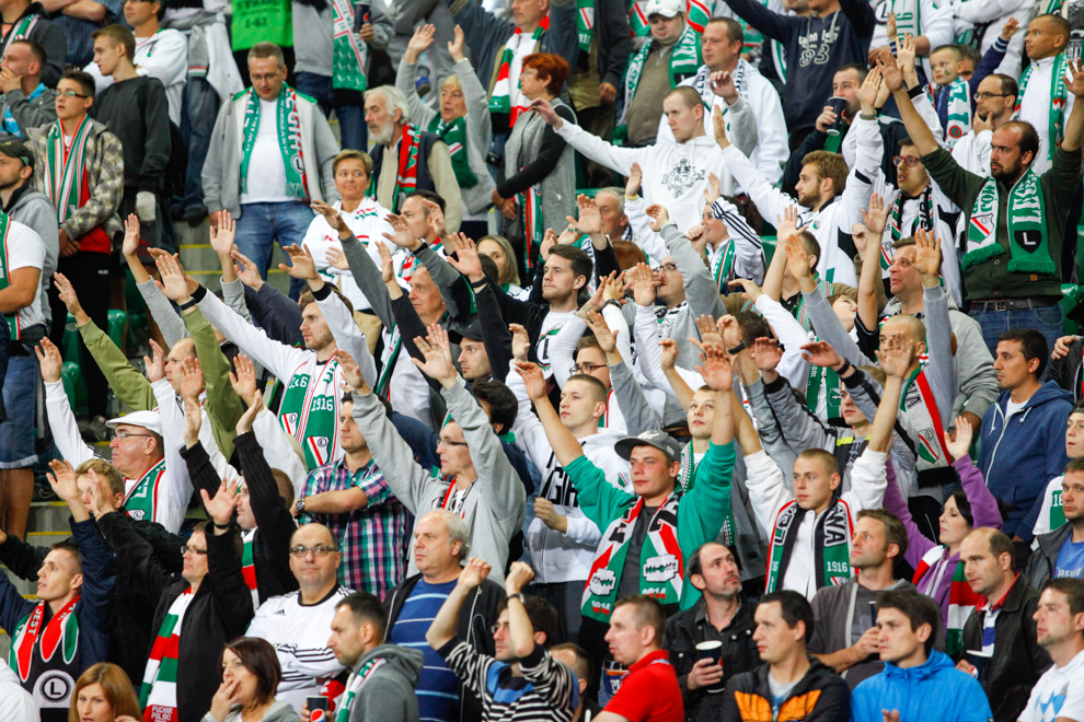 Legia Warszawa 1-0 KSC Lokeren - fot. Piotr Galas - wiadomosci24.pl (zdjęcie 40 z 57)