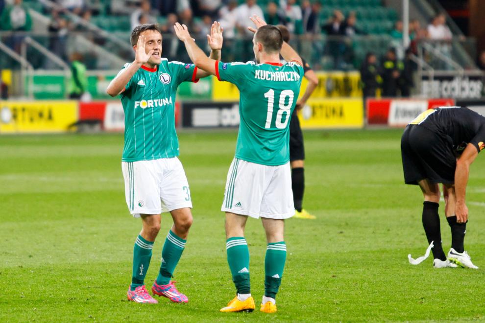 Legia Warszawa 1-0 KSC Lokeren - fot. Piotr Galas - wiadomosci24.pl (zdjęcie 44 z 57)