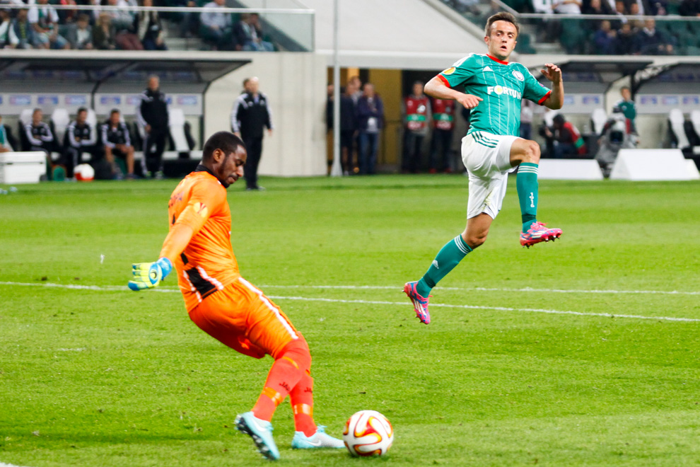 Legia Warszawa 1-0 KSC Lokeren - fot. Piotr Galas - wiadomosci24.pl (zdjęcie 45 z 57)
