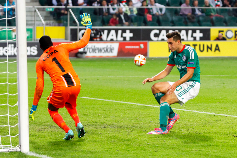 Legia Warszawa 1-0 KSC Lokeren - fot. Piotr Galas - wiadomosci24.pl (zdjęcie 48 z 57)