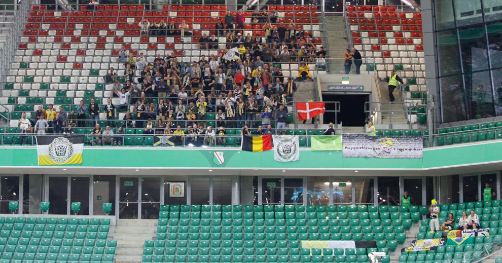 Legia Warszawa 1-0 KSC Lokeren - fot. Piotr Galas - wiadomosci24.pl (zdjęcie 5 z 57)