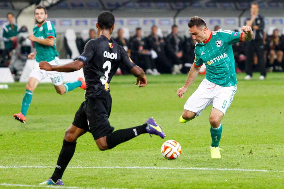 Legia Warszawa 1-0 KSC Lokeren - fot. Piotr Galas - wiadomosci24.pl (zdjęcie 52 z 57)